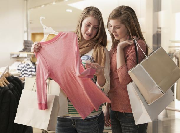 กลยุทธ์การเลือกซื้อเสื้อผ้า