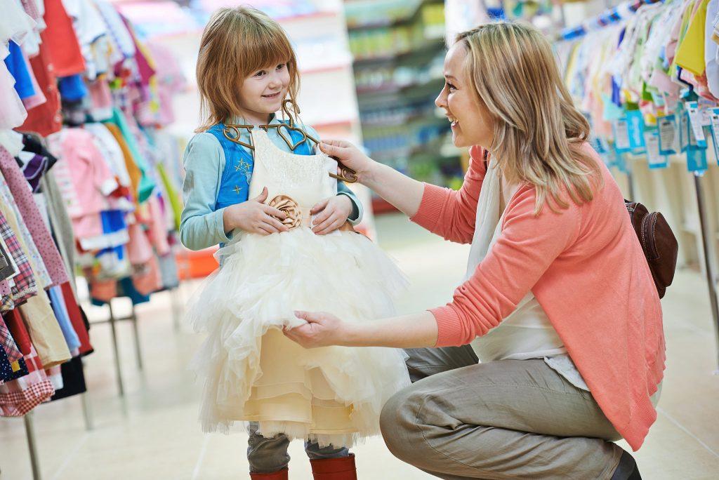 การเลือกเสื้อผ้าสำหรับเด็ก