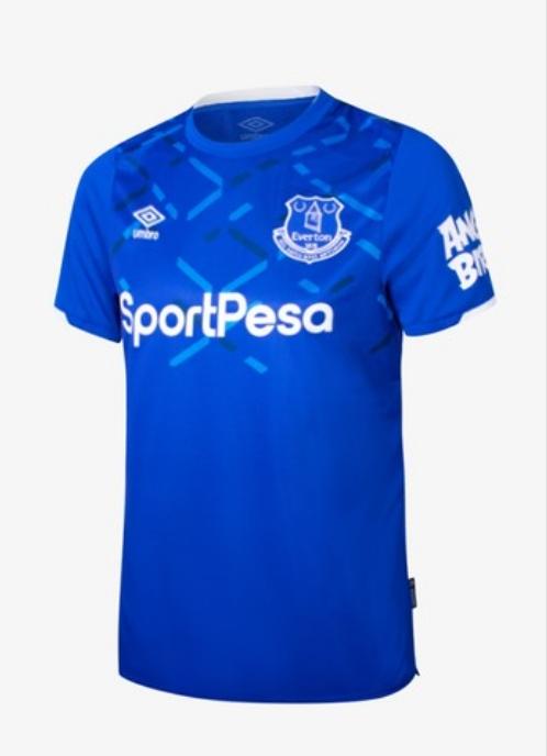 Everton Jersey อัมโบรดีไซน์เสื้อเจอร์ซีย์ให้กับสโมสรฟุตบอลเอฟเวอร์ตัน